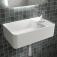 Ideal Standard Strada II - Handwaschbecken Version rechts 450 x 270 x 170 mm weiß mit IdealPlus7
