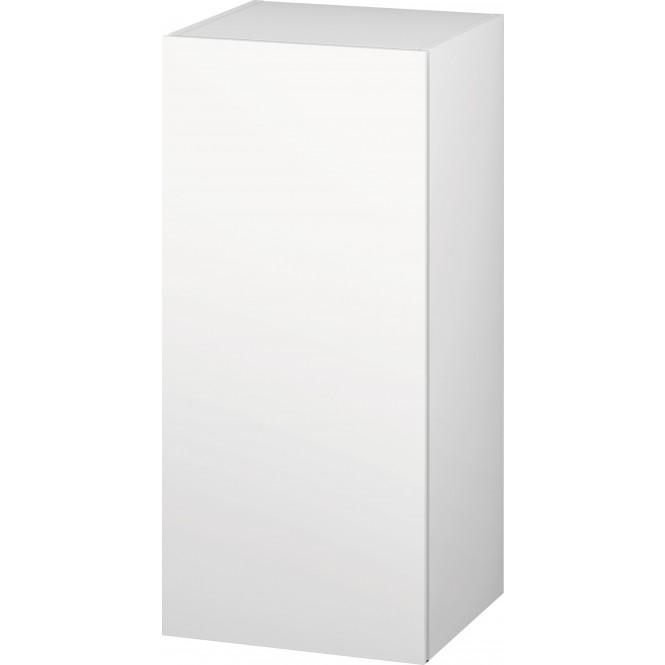 Duravit L-Cube - Halbhochschrank 500 x 900 x 363 mm mit 1 Tür & 2 Glasfachböden & Anschlag links eiche cashmere