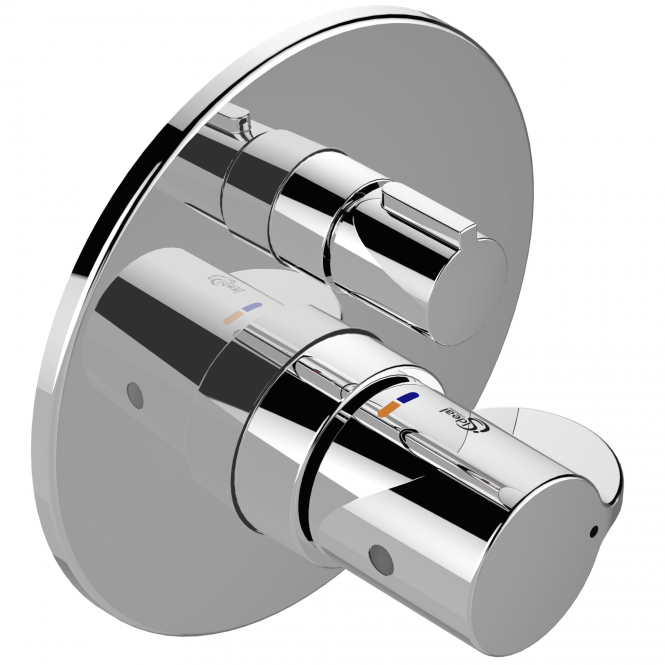 Ideal Standard CeraPlus 2 - Brausethermostat 163 mm chrom