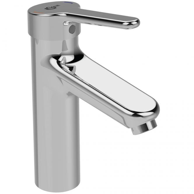 Ideal Standard CeraPlus 2 - Waschtischarmatur Grande ohne Ablaufgarnitur Ausladung 123 mm chrom