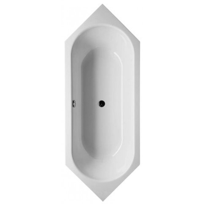 Bette BetteStarlet Sechseck - 6- / 8 corner bath 20 with a handle hole beige - 210 x 80