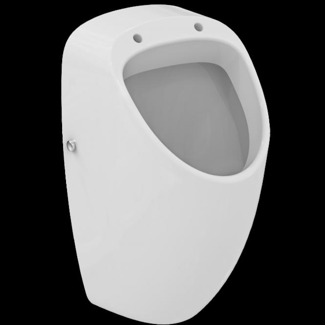 Ideal Standard Connect - Absaugeurinal Zulauf von hinten 280 x 295 x 535 mm weiß