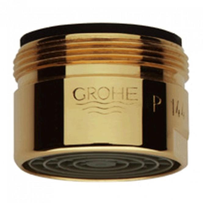 Grohe - Mousseur 13927 Durchflussklasse C 30l / min 3 bar AG M28 x 1 gold