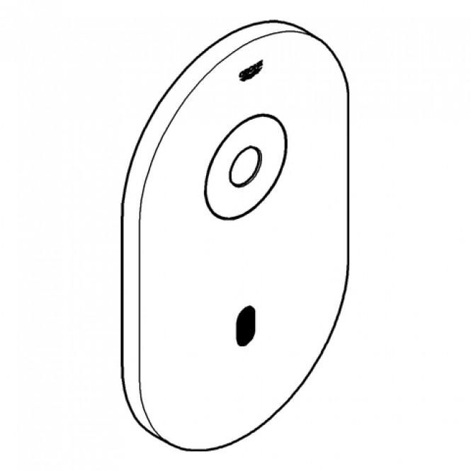 Grohe - Abdeckplatte mit Elektronik 42421 chrom