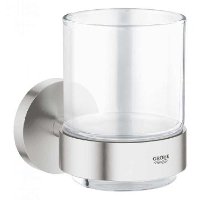 grohe-essentials-glass-with-holder