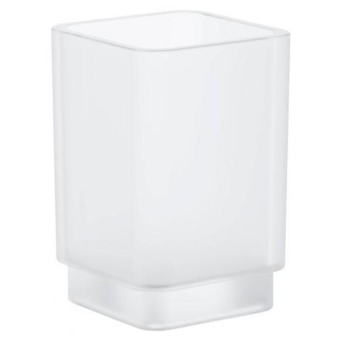 Grohe Selection Cube - Kristallglas für Halter davinci satin weiss