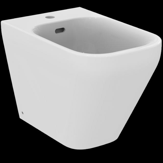 Ideal Standard Tonic II - Standbidet 1 Hahnloch 355 x 560 x 400 mm weiß mit Ideal Plus