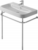 Duravit Happy D.2 - Metallkonsole höhenverstellbar chrom