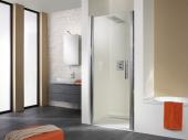 HSK - Revolving door niche exclusive, 01 Alu silver matt 750 x 1850 mm, 50 ESG clear bright