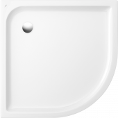 Villeroy & Boch O.novo - Viertelkreis-Duschwanne Plus 800 x 800 x 60 mm weiß alpin
