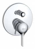 Ideal Standard Melange - Concealed single lever bathtub mixer for 2 outlets chrome