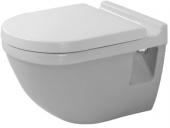 DURAVIT Starck 3 - Wand-Tiefspül-WC ohne Rimless weiß ohne WonderGliss