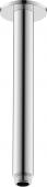 Duravit Universal - Brausearm Decke L225 rund schwarz matt
