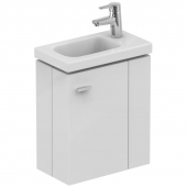 Ideal Standard Connect Space - Washbasin cabinet 450 mm for small basins (storage right)