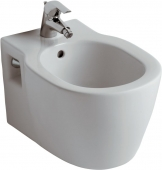 Ideal Standard Connect - Wall-mounted bidet white with IdealPlus