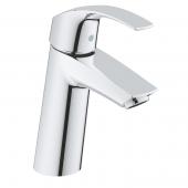 Grohe Eurosmart - Einhand-Waschtischbatterie M-Size Push-open Ablaufgarnitur chrom