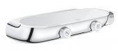 Grohe Grohtherm SmartControl - Thermostatbatterie mit 2 Absperrventilen chrom / moon white