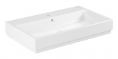 Grohe Cube - Aufsatz-Waschtisch 800 mm PureGuard weiß