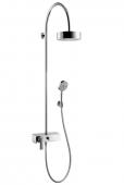Hansgrohe Axor Citterio - Showerpipe mit Einhebelmischer und 1jet Kopfbrause