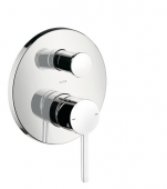 AXOR Starck - Concealed single lever bathtub mixer for 2 outlets chrome