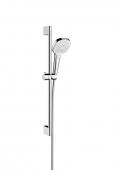 Hansgrohe Croma Select E - Vario Shower Set 0,65 m weiß / chrom
