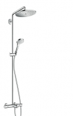 Hansgrohe Croma Select S - Showerpipe 280 Wanne chrom