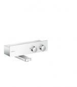 Hansgrohe ShowerTablet 350 - Thermostat Wanne Aufputz DN15 weiß / chrom