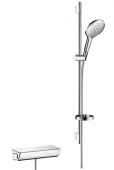 Hansgrohe Ecostat Select - Combi Set 900 mm weiß / chrom