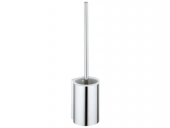 Keuco Plan - Toilet brush set chrome / white