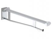 Keuco Plan care - Folding grab rail black gray / chrome-plated