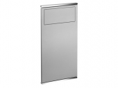 Keuco Plan - Washbasin module 1 aluminium / chrome-plated