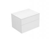 Keuco Edition 400 - Sideboard weiß / Glas weiß klar