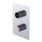 Steinberg Serie 390 - iFlow vollelektronische Armatur mit Digitalanzeige chrom