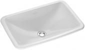 Villeroy & Boch Loop & Friends - Drop-in washbasin 675x450 white with CeramicPlus