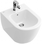 Villeroy & Boch Subway 2.0 - Wall-mounted bidet Compact white with CeramicPlus