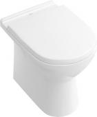 Villeroy & Boch O.novo - Floorstanding washdown toilet without DirectFlush white without CeramicPlus