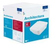 Villeroy & Boch Architectura - Wand-WC Combi Pack mit DirectFlush weiß