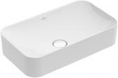 Villeroy & Boch Finion - Aufsatzwaschtisch 600 x 350 mm stone white mit CeramicPlus