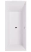 Villeroy & Boch Squaro - Badewanne 1694 x 744 mm weiß alpin