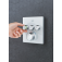 Grohe Grohtherm SmartControl - Thermostat eckig 3 Absperrventile moon white environmental3