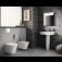 Ideal Standard Connect - Wand-Tiefspül-WC AquaBlade 365 x 540 x 340 mm weiß mit Ideal Plus4