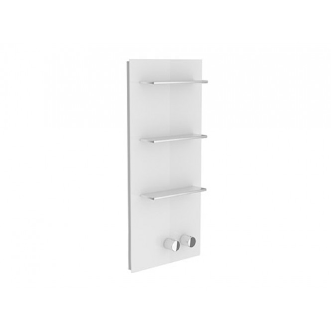 Keuco meTime_spa - Concealed thermostatic bathtub / shower mixer for 1 outlet white / chrome