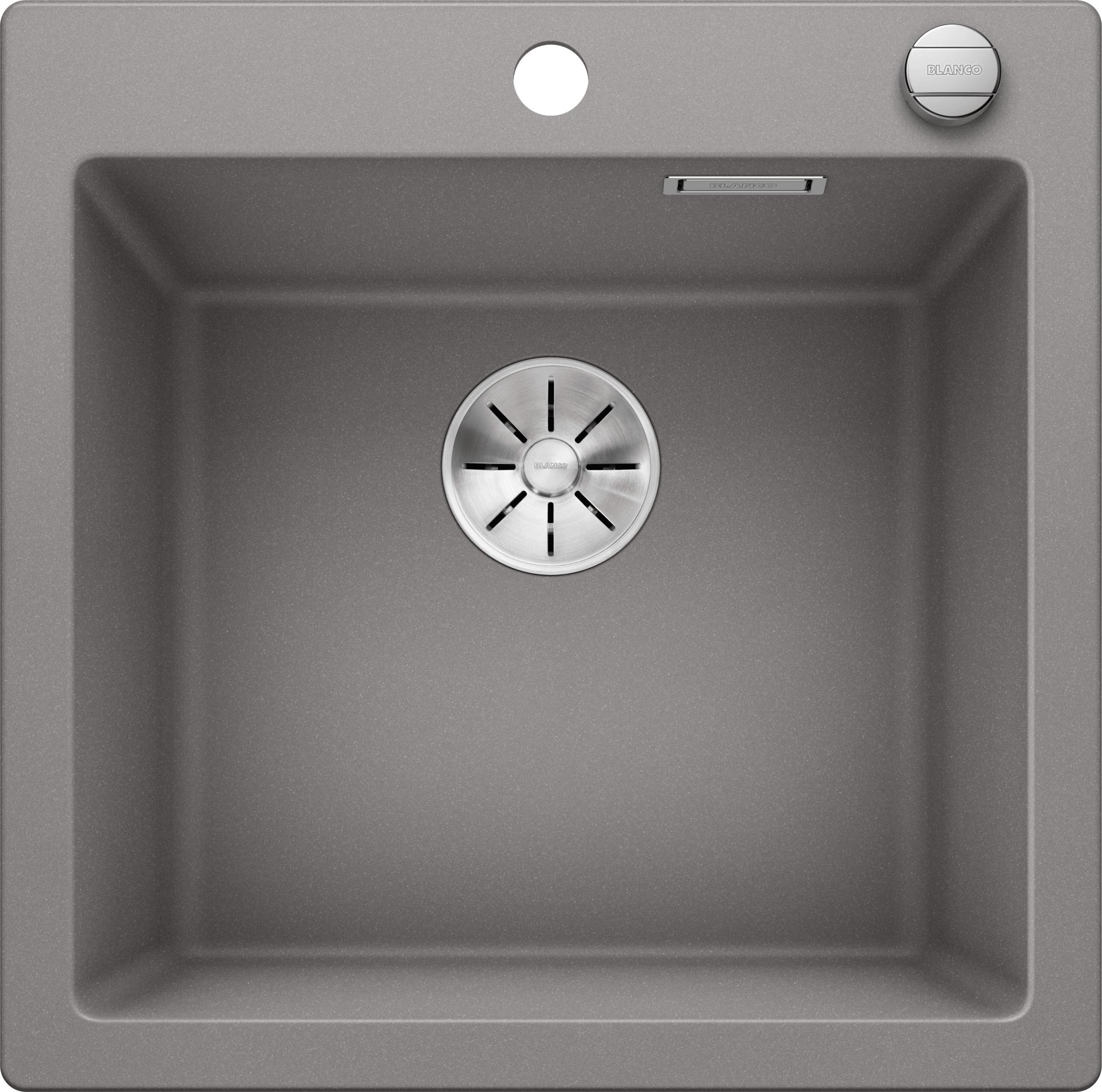 Blanco Pleon Spule 5 Silgranit Puradur Mit Ablauffernbedienung Alumetallic