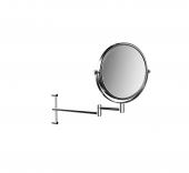 Emco Universal - Rasier- und Kosmetikspiegel 2-armig 3-fach/1-fach rund 200 mm