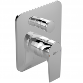 Ideal Standard Tesi - Badearmatur 163 x 163 mm chrom