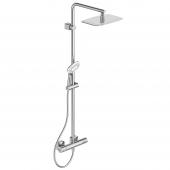 Ideal Standard Idealrain - Duschsystem mit Ceratherm 300 x 200 mm chrom