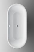 Bette Lux - Oval-Badewanne 1800 x 800 mm weiß