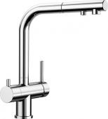 Blanco Fontas-S - Küchenarmatur II Filter metallische Oberfläche Hochdruck chrom