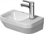 Duravit DuraStyle - Handwaschbecken weiß 360x220mm ohne Überlauf matt Hahnloch rechts