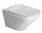 Duravit DuraStyle - Wand-Tiefspül-WC Set weiß rimless inklusive WC-Sitz mit Absenkautomatik Toilette